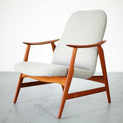 Mid Century Modern Lounge Chair - Excellent Design 60s | Sessel Teak 60er | No.2