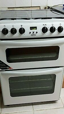 Belling dual gas cooker 60cm free fittings delivery. Please read the description