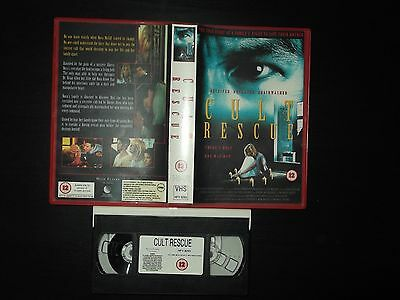 Cult Rescue True Story VHS