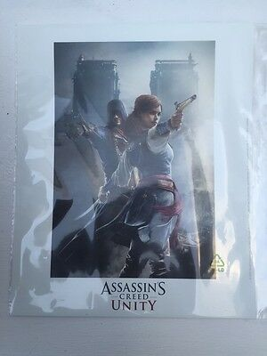 Lithographie : Assassin's Creed Unity [ Ubicollectibles / Lithograph ] New