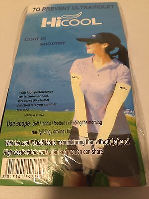 Hicool UV Protection Sleeves Pink