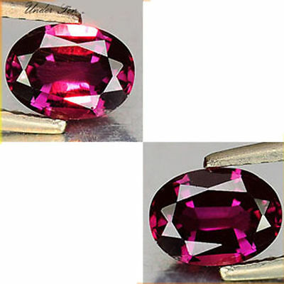 0.40Cts Beauteous Gem - Natural Pink To Raspberry Red Color Change GARNET LF007