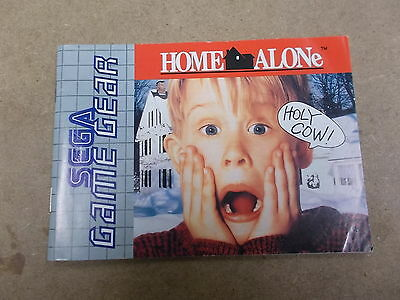 Sega Game Gear Pal Instruction Manual Only HOME ALONE