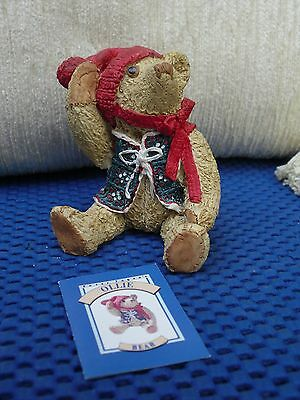 Peter Fagan Bear Called Ollie With Box