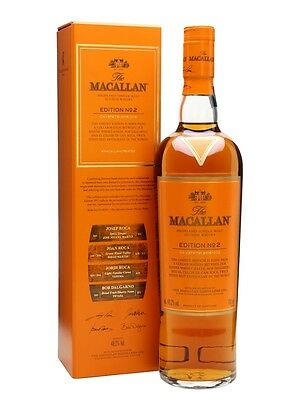 Macallan Edition No 2 Single Malt Scotch Whisky 700ml