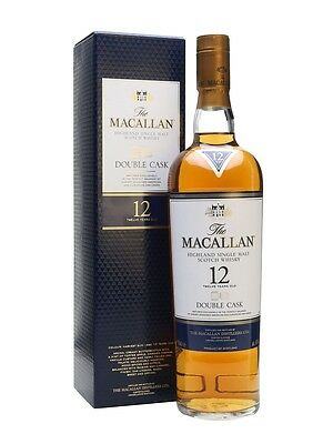 Macallan 12 Year Old Double Cask Single Malt Scotch Whisky 700ml Pre-Arrival
