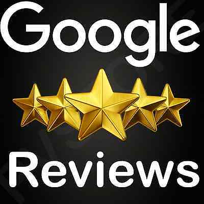 3 Google Reviews - EXTREMELY HIGH QUALITY ( Can't tell they're fake )