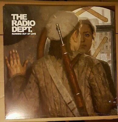 THE RADIO DEPT Running Out Of Love LP CLEAR VINYL RARE LIMITED EDITION /1000