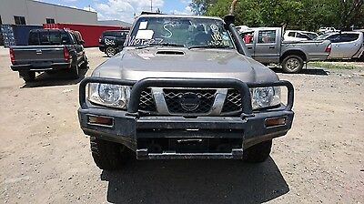 Nissan Patrol Manual Vehicle Wrecking Parts 2008 #va01207
