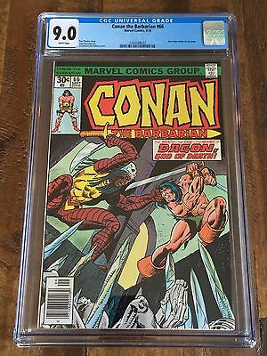 Conan the Barbarian #66 - CGC Graded: 9.0 - Red Sonja Cameo on last page (1976)