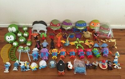 Bulk Mixed McDonald's  Happy Meal Promotion Toys Boys Girls Gift Set