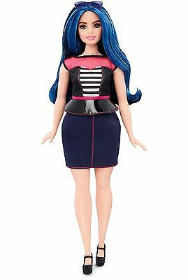 Barbie Fashionistas Doll 27 Sweetheart Stripes - Curvy Brand New Free Shipping!