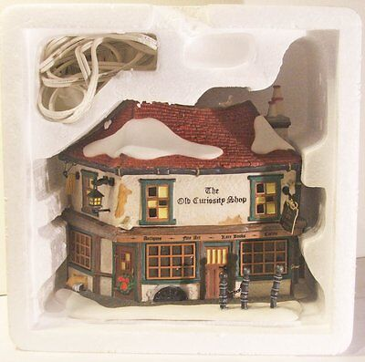 Department 56 Dickens Village Old Curiosity Shop #58482 Boxed