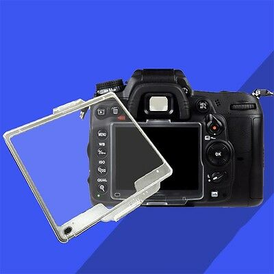 Transparent Hard Pastic LCD Screen Protector Monitor Cover BM For Nikon E5