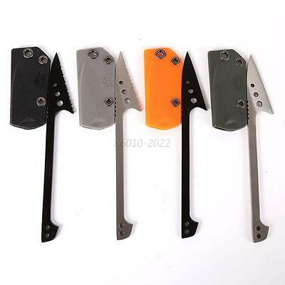 Stainless Steel Fishing Scale Flake Blade Knife & Sheath Outdoor Picnic Camp Kit