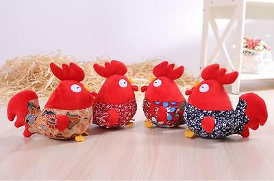 2017 Chinese Year of the Rooster plush toy mascot birthday christmas gift new