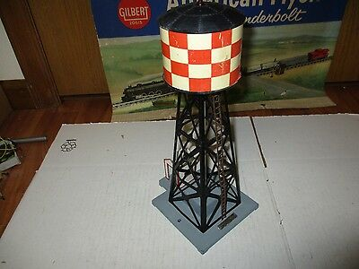 American Flyer 772 Checkerboard water tower  (A264)