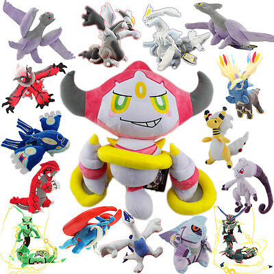 Pokemon Hoopa and the Clash of Ages all Mega Legendary Plush Toy etc. selectable