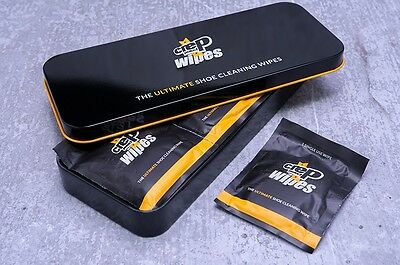 CREP PROTECT WIPES (Metal Case & 12 Individual Wipes)