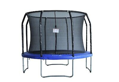 Brand New 10ft Trampoline Round With Ladder Safety Net Enclosure