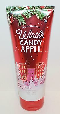 Bath & Body Works Winter Candy Apple Ultra Shea Cream Hand Lotion Moisture 8 Oz