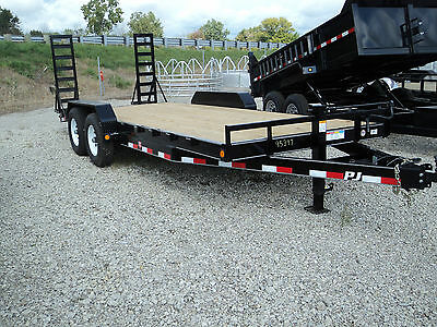 New Pj 20 Ft Equipment Trailer 14K Gvwr *year End Sale Going On Now* Dr Trailer