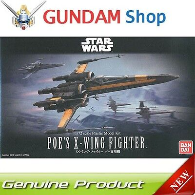 BANDAI Star Wars 1/72 Poe` s X-Wing Fighter No. 210500 JAPAN