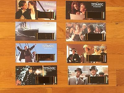 Titanic 70MM Film Cell Card set of 8