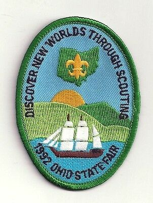 1992 Boy Scout Ohio State Fair Patch