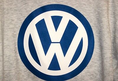 VW  logo T-shirt  Volkswagon Vintage 60's 70's NOS 0226   S,M,L or XL