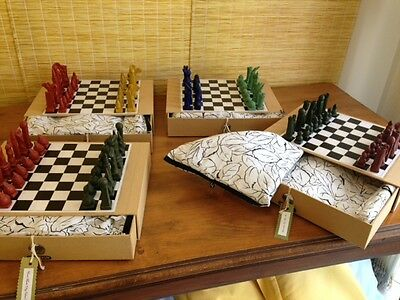 Chess Set - Hand Made Clay