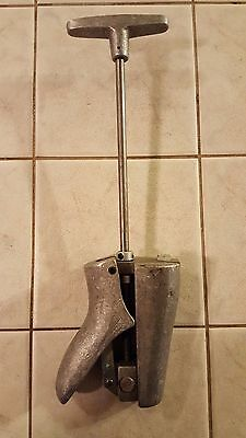 Mallory Cast Aluminum Metal Boot Instep Stretcher Great L@@K!