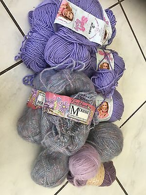 Wool Bundles Purple 10+