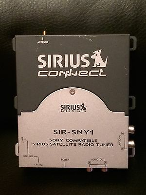 SONY COMPATIBLE SIRIUS SATELLITE RADIO TUNER - Replacement SIR-SNY1