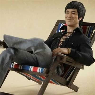 Hot Toys Hottoys Bruce Lee 70S Casual Wear 1/6 Figure 1000% Genuine Pa Aq1222