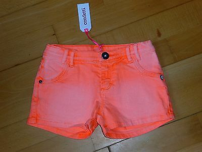 """Short fille """"CONFETTI"""" neuf -taille 6 ans"""