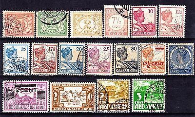 NETHERLANDS INDIES 1902-33 Collection Used.