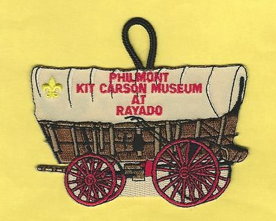 Philmont Scout Ranch Kit Carson Museum At Rayado Patch
