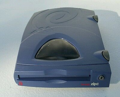 BARELY USED - Iomega ZIP 250 Z250P Parallel Port External Computer Zip Drive