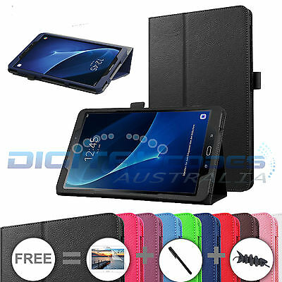 "Premium Samsung Tab A 7.0"" / 8.0"" / 9.7"" / 10.1"" Flip Leather Case Cover"
