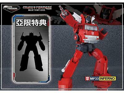 Transformers MP-33 Masterpiece Inferno with Gift NEW MISB
