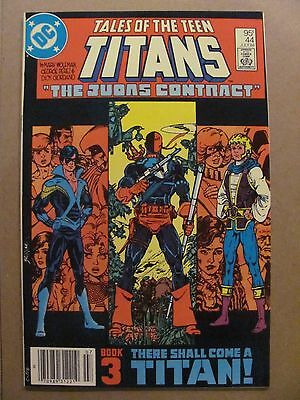 Tales of the New Teen Titans #44 DC 1st Nightwing $0.95 Canadian Variant 9.4 NM