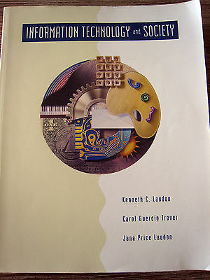 INFORMATION TECHNOLOGY and SOCIETY - VINTAGE COLLECTIBLE IT COMPUTER BOOKS