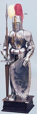 Medieval Wearable Knight Crusader Full Armor Suit Armour Costume Reenactment New