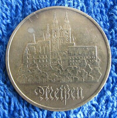 East Germany German-democratic Republic DDR 5 mark 1972 Meissen coins