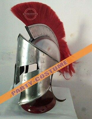 Brass Greek Corinthian Replica Greek Spartan Helmet Army Greek King Leonidas