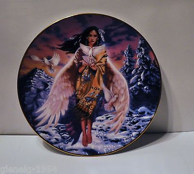 Spirit of the Snow Dove Franklin Mint Plate # T4966
