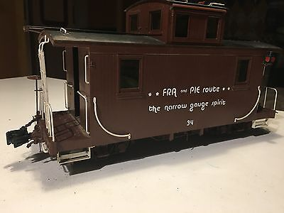 Special Offer - G Scale Garden Railways Fn3 1:20.3 Ams Short Caboose Unlettered