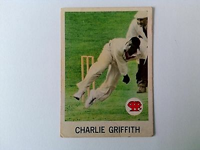 1965 Scanlens Cricket Card #32 Charles Griffith