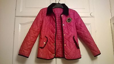 Children's Pink Pineapple Coat Age 8 to 9 years